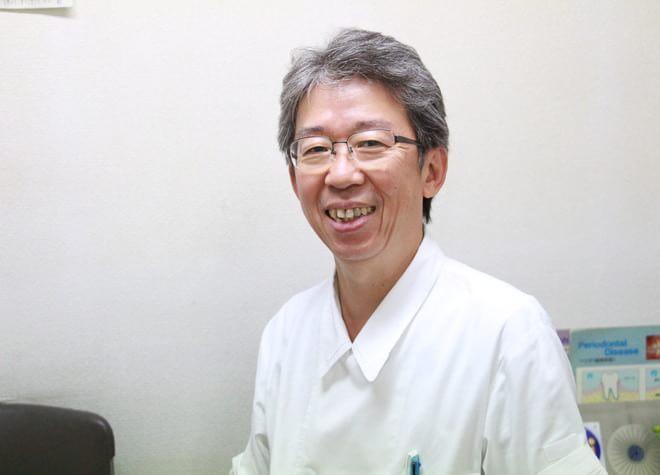 綱島鈴木歯科医院の院長先生