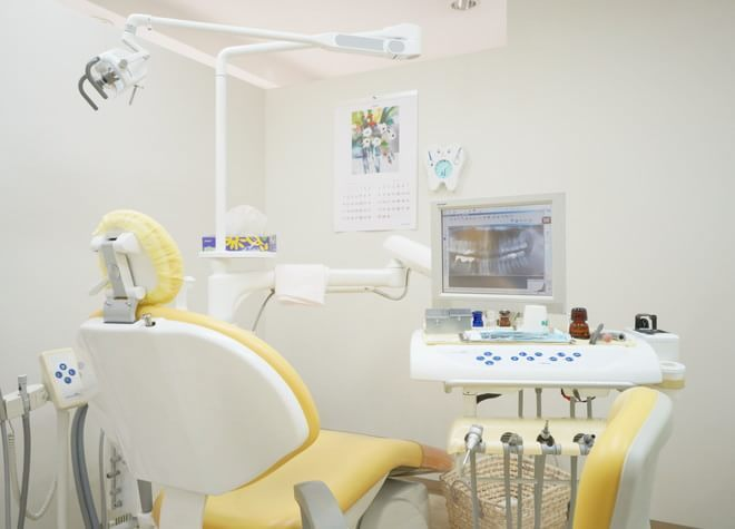 大崎駅 徒歩12分 いとう歯科クリニックの治療台写真2