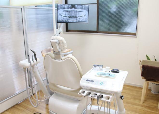 南浦和駅 東口徒歩5分 かなえ歯科クリニックの治療台写真2