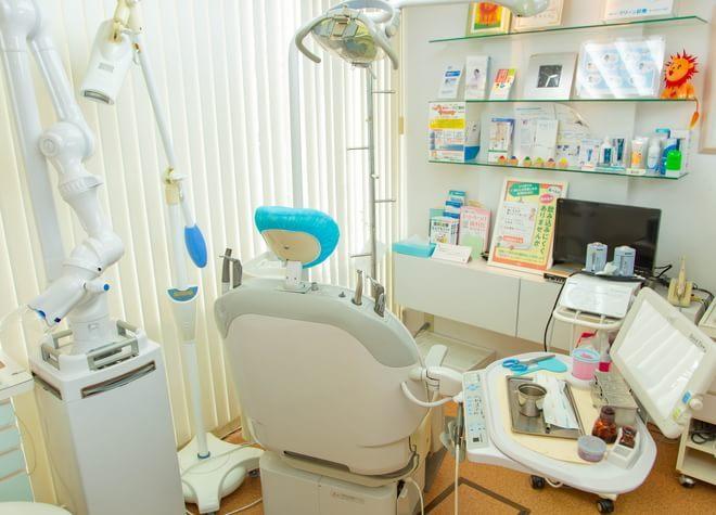 茨木駅 西口バス 5分 朝倉歯科医院の治療台写真2