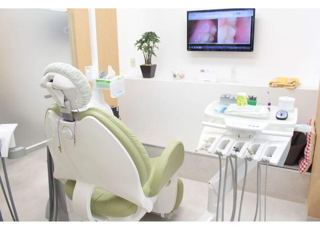 越谷駅 西口徒歩 1分 ひらいで歯科医院の治療台写真2