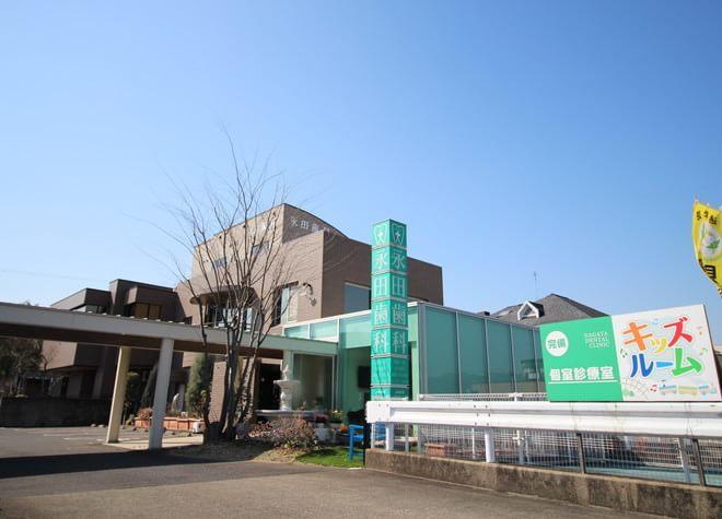 関江南線沿い、各務原市民会館前  永田歯科クリニックの外観写真6