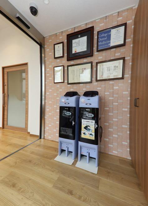 小作駅 東口徒歩1分 うすい歯科・矯正歯科の院内写真3