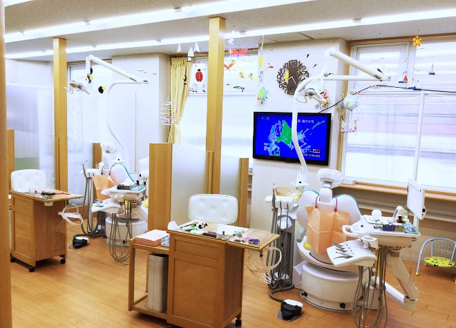 稲積公園駅 1番出口徒歩14分 Ohtaniみるく歯科医院の院内写真2