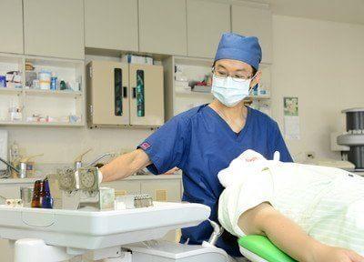 竹松駅 出口徒歩 16分 とやま歯科医院の治療中写真2