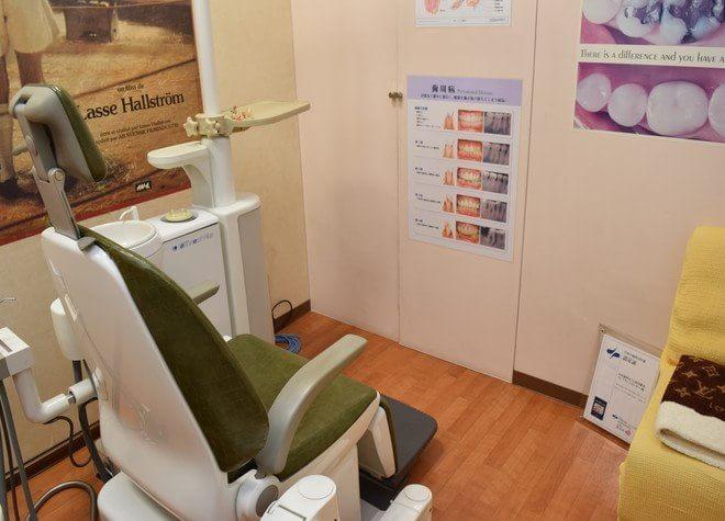 さくら夙川駅 南口徒歩 1分 小田歯科(JRさくら夙川駅)の治療台写真6