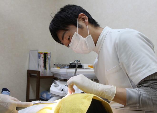 麻酔の際は注射時の痛みを少な