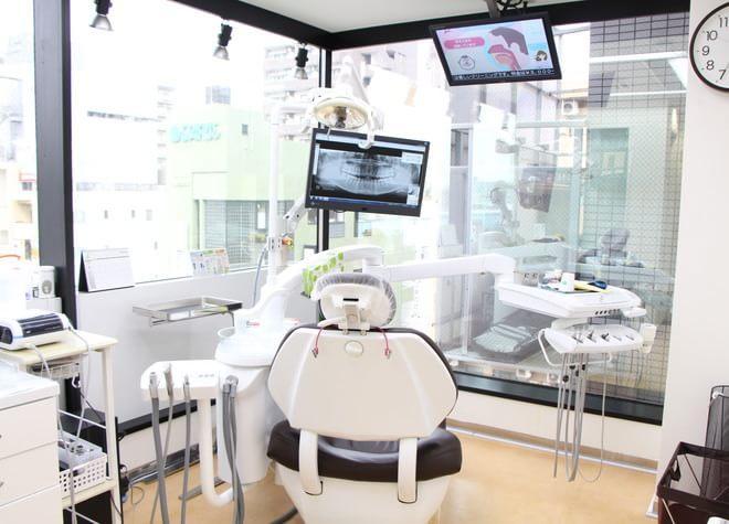 葛西駅 博物館口徒歩 1分 クレア歯科医院の治療台写真3