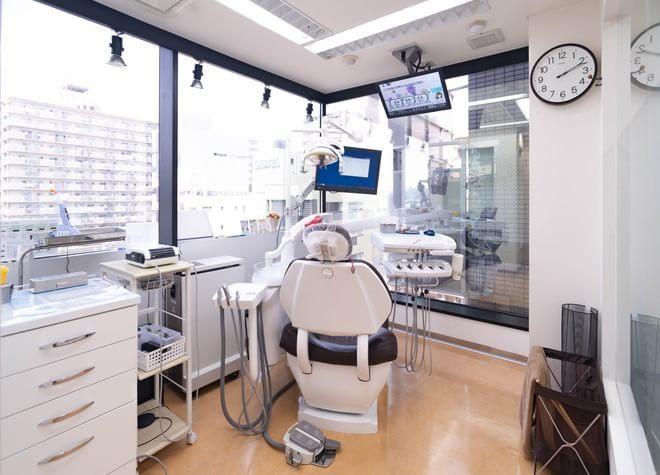 葛西駅 博物館口徒歩 1分 クレア歯科医院の治療台写真5