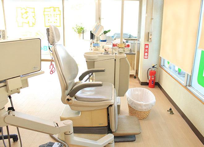 荏原町駅 1番出口徒歩 1分 のぐち歯科の院内写真2