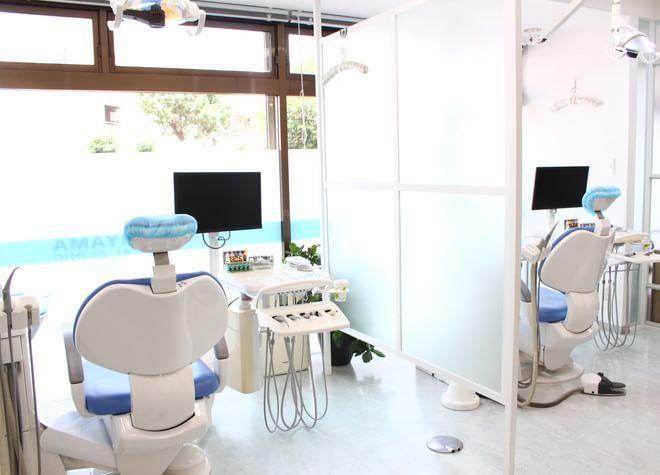 練馬駅 西口徒歩4分 うしやま歯科の治療台写真2