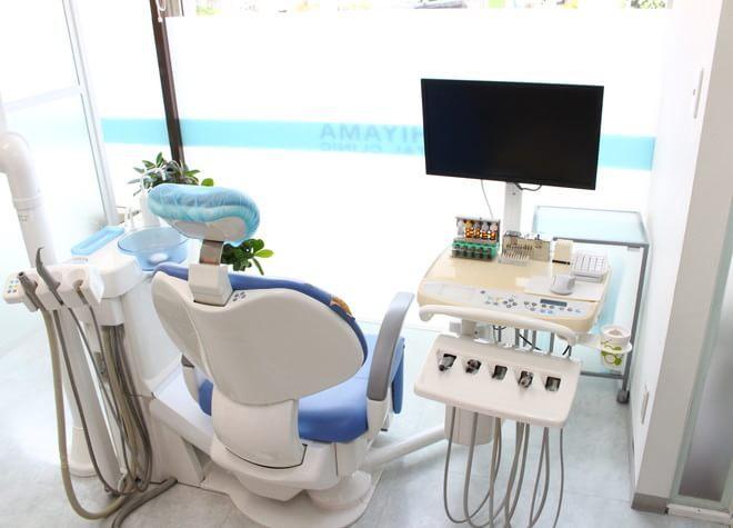 練馬駅 西口徒歩4分 うしやま歯科の治療台写真3