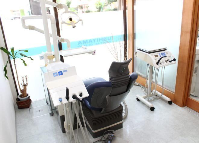 練馬駅 西口徒歩4分 うしやま歯科の治療台写真4
