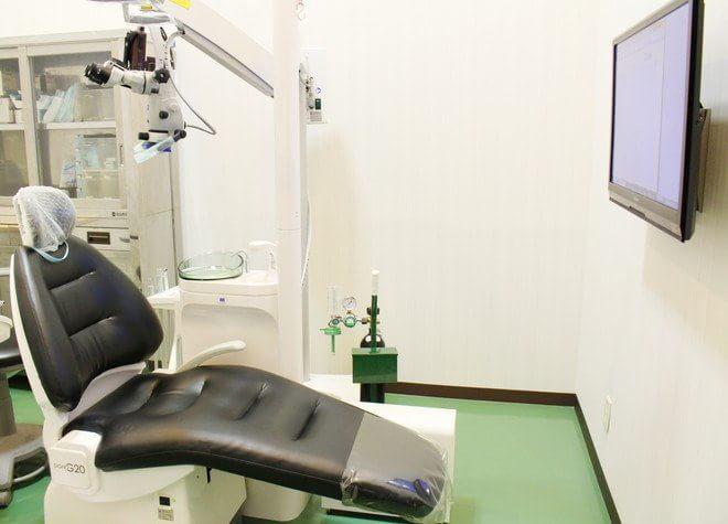 はりま勝原駅 出入口1徒歩 13分 イオンモール姫路大津歯科の治療台写真2