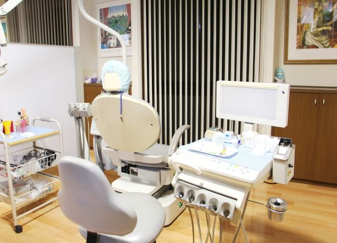 羽貫駅 出口徒歩 10分 上尾カナデ歯科・マウス&ピース矯正歯科の治療台写真3