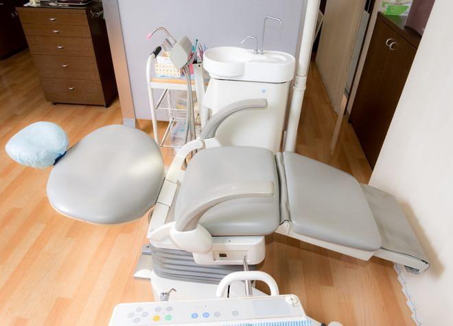 羽貫駅 出口徒歩 10分 上尾カナデ歯科・マウス&ピース矯正歯科の治療台写真4