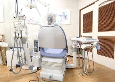 痛みの軽減に努める!表面麻酔の後に電動注射器を使用