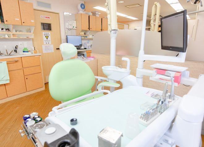 中野坂上駅 1番出口徒歩 5分 小林歯科クリニックの治療台写真7