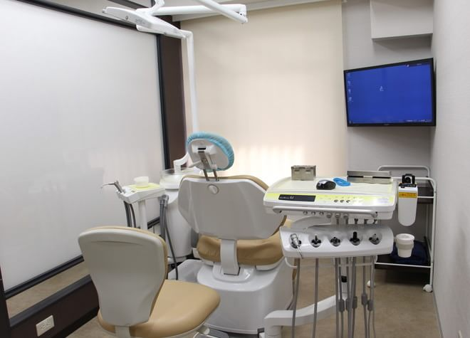 新中野駅 1番出口徒歩 4分 エス歯科クリニックの治療台写真2