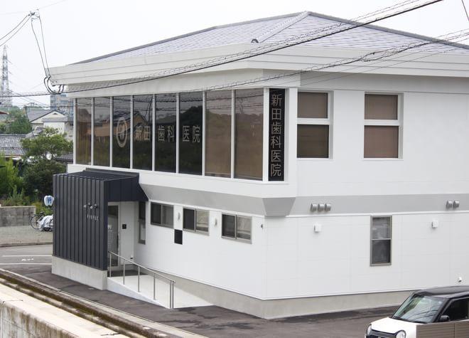 新田歯科医院(上町信号を東へ入る)