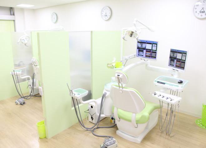 流通センター駅 出口徒歩15分 たけの歯科クリニックの治療台写真7