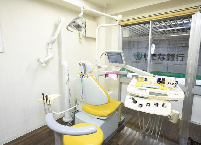 三国駅(大阪府) 出口徒歩 3分 倉田歯科の治療台写真6