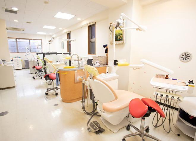 上石神井駅 徒歩 1分 れいデンタルクリニックの治療台写真2