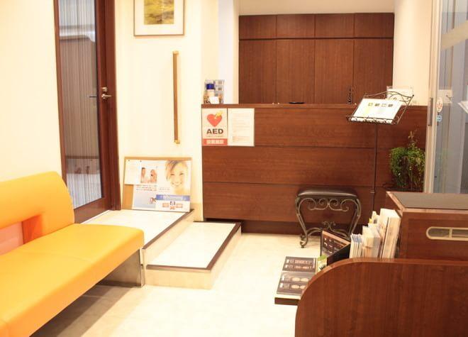 大森駅(東京都) 北口徒歩 3分 くに歯科医院の待合スペースの風景写真6