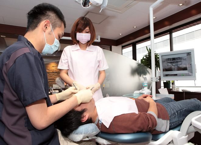 江坂駅 8番出口徒歩 1分 やまぐち歯科クリニックのスタッフ写真4