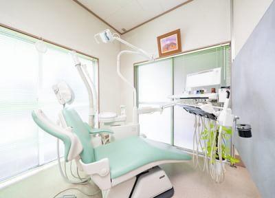 草加駅 出口徒歩 8分 二階堂歯科医院の治療台写真4
