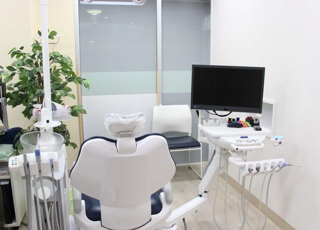 千葉寺駅 出口徒歩1分 あおばの森ファミリー歯科の治療台写真6