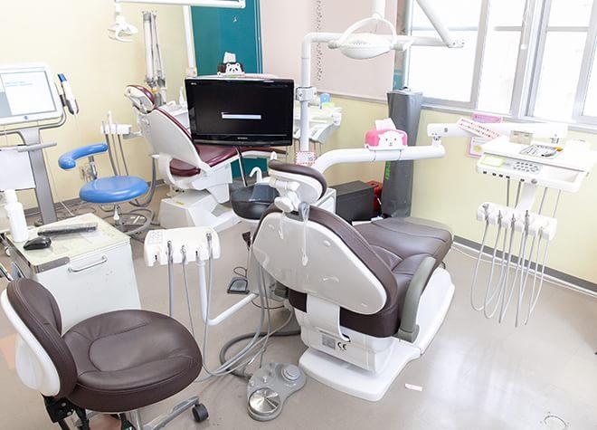南熊本駅 出口徒歩 5分 やまさき歯科・矯正歯科の治療台写真4