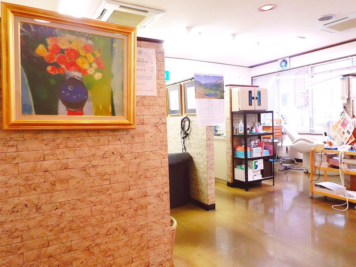 徳島駅 徒歩 10分 マキ歯科新町診療所の院内写真4
