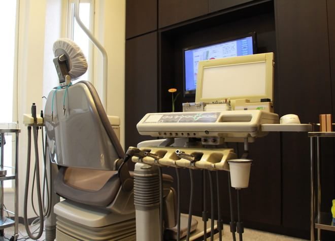北柏駅 北口バス 10分 とみせ歯科室の治療台写真2