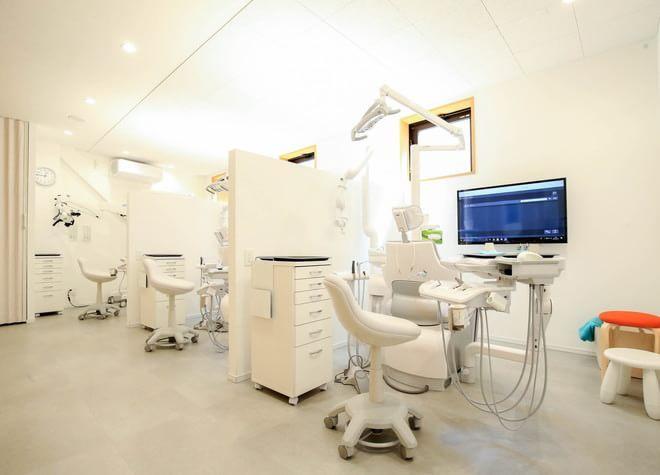 金町駅 北口徒歩 3分 りもあ歯科の治療台写真3