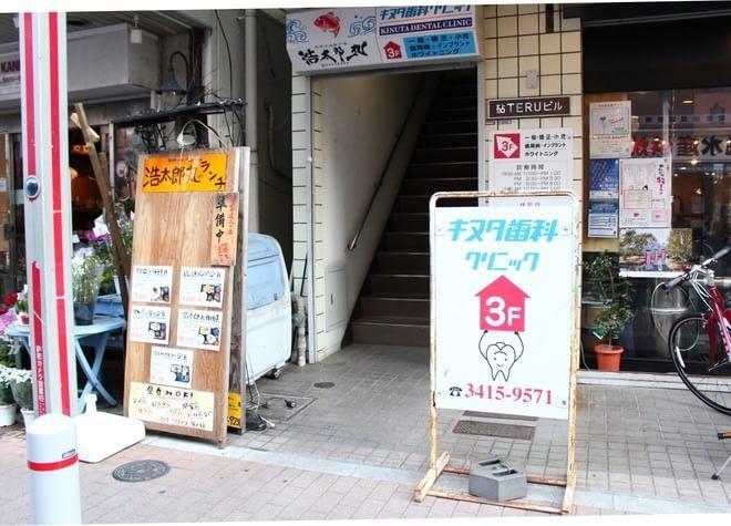 祖師ヶ谷大蔵駅 南口徒歩 1分 キヌタ歯科クリニックの外観写真6