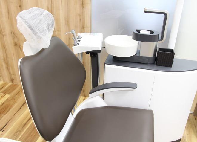 文の里駅 3番出口徒歩1分 ひらやま歯科クリニックの治療台写真2