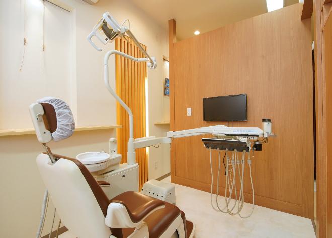 野江内代駅 1番出口徒歩 3分 下地歯科の治療台写真2