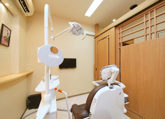 野江内代駅 1番出口徒歩 3分 下地歯科の治療台写真3