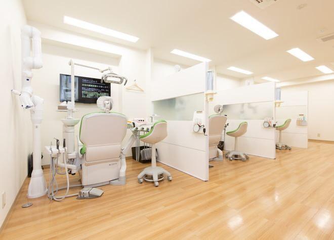 【本厚木駅 北口バス20分】 はすみ歯科クリニックの治療台写真2