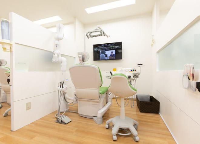 【本厚木駅 北口バス20分】 はすみ歯科クリニックの治療台写真3
