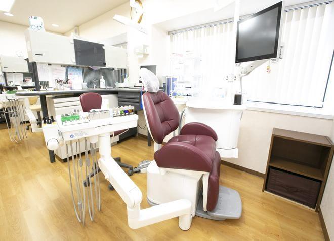 光明池駅 出口徒歩 11分 保富歯科医院の治療台写真2