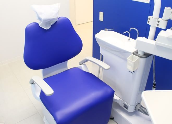 市ヶ谷駅 A3出口徒歩 2分 九段ブルー歯科の治療台写真6