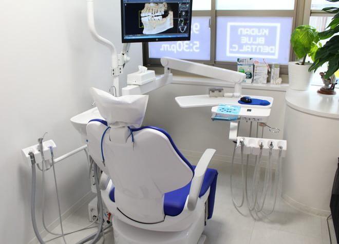 市ヶ谷駅 A3出口徒歩 2分 九段ブルー歯科の治療台写真7