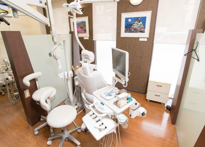 布施駅 出口徒歩 5分 窪田歯科の治療台写真2
