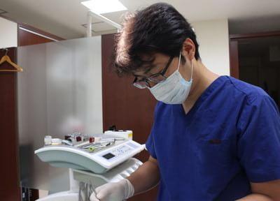 患者さんが落ち着いて治療を受けられるよう取り組んでいます