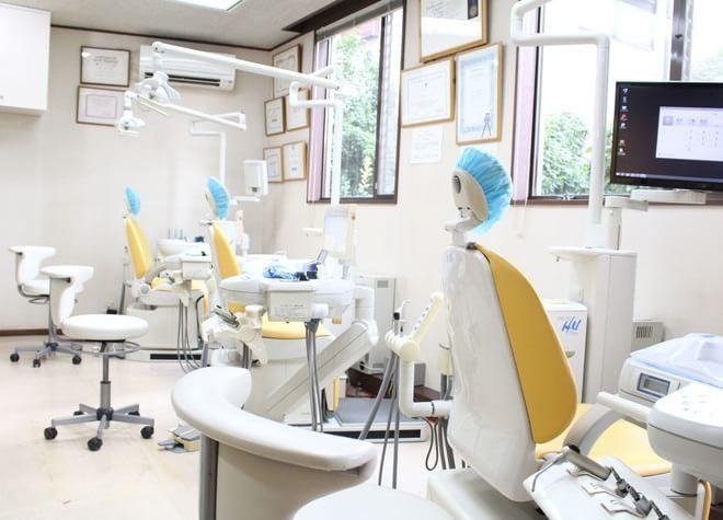 川口元郷駅 出口徒歩 14分 伊藤歯科医院の治療台写真2