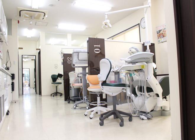 甲東園駅 出口徒歩7分 ケイ歯科クリニックの治療台写真7