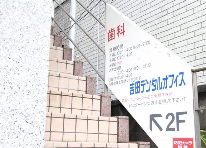練馬駅 A2出口徒歩 2分 吉田デンタルオフィスの吉田デンタルオフィスの案内板写真3
