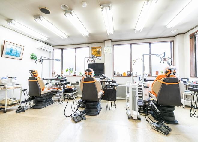 桜ヶ丘駅 西口徒歩 2分 新生歯科医院の治療台写真2